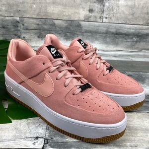 Nike Air Force 1 sage low platform sneakers shoe